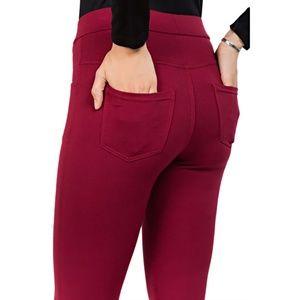Pants - Comfy Pocket Pattern Leggings